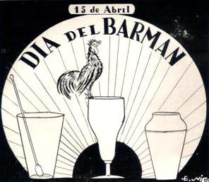 15 de abril día del barman - Argentina
